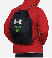 The Court Under Armour Undeniable 2.0 Sackpack Black