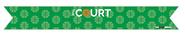 The Court Champro Custom Sublimated Tieback Headband Green