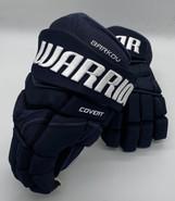 "Warrior Covert QRE Pro Stock Custom Hockey Gloves 14"" Navy NHL Panthers Barkov"