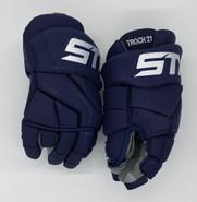 "STX Stallion Surgeon RX3 Pro Stock Custom Hockey Gloves 14"" Panthers Trocheck New"
