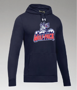Hartford Junior Wolfpack Under Armour Hustle Team Hoodie Adult