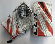 CCM Extreme Flex 4 Goalie Glove Pro stock AHL BERUBE