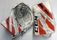 CCM Extreme Flex 4 Goalie Glove Pro stock AHL BERUBE 2