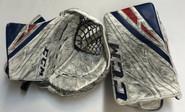 CCM Extreme Flex 4 Goalie Glove Pro stock AHL HUSKA