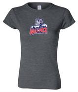 Hartford Junior Wolfpack Gildan Softstyle Cotton Short T Shirt Womens