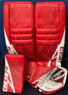 CCM Extreme Flex 4 Goalie Set Custom Pro Stock Used 34+2
