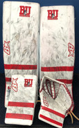 Brians  Optik Goalie Set Custom BU NCAA Stock Used 34+3