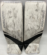 Bauer Supreme 2S Pro Goalie Leg Pads Large Pro Stock NCAA PC Used