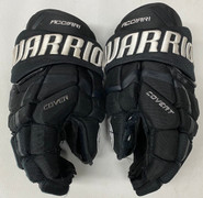 "Warrior Covert Pro Stock Custom Hockey Gloves 14"" Acciari Bruins NHL Used"