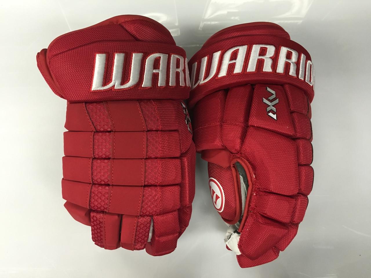 Warrior Dynasty AX1 Pro Stock Custom Hockey Gloves 15