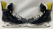 BAUER SUPREME 2S PRO CUSTOM ICE HOCKEY SKATES 9 5/8 E  NHL BRUINS BELESKEY USED