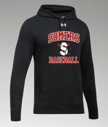 Somers Little League Under Armour Hustle Team Hoodie Adult and Youth
