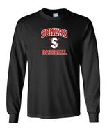 Somers Little League Gildan Cotton Long Sleeve Tee Shirt