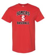 Somers Little League Gildan Cotton Short Sleeve Tee Shirt