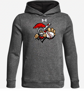 Somers Little League SPARTAN Under Armour Hustle Team Hoodie Adult and Youth