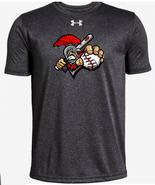 Somers LL SPARTAN Under Armour Locker Tee Adult and Youth Carbon