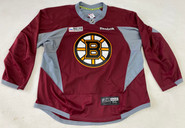 Reebok Edge 3.0 Custom Pro Stock Hockey Practice Jersey Boston Bruins Maroon 56 New