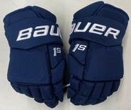 "Bauer Supreme 1S Pro Stock Custom Hockey Gloves 14"" Panthers Mccoshen NHL New"