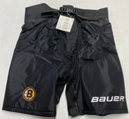 Bauer Custom Pro Stock Hockey Pant Girdle Shell Cover Black Large New Bruins NHL