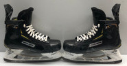 BAUER 2S PRO STOCK ICE HOCKEY SKATES 8.5 E USED