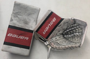 Bauer Supreme 2S Goalie Catcher and Blocker Pro Stock Used