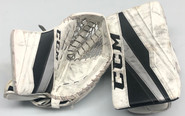 CCM Extreme Flex 3 Goalie Glove and Blocker Pro stock NCAA Used