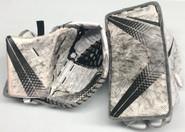 Bauer Vapor 1X Goalie Glove and Blocker Set Pro Stock Used