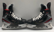BAUER 2X PRO STOCK ICE HOCKEY SKATES 9 1/2 D MOORE BRUINS NHL