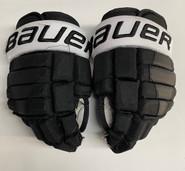 "Bauer Nexus 2N Pro Stock Custom Hockey Gloves 12"" PC NCAA Used #9"