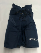 CCM HP32 Custom Pro Stock Hockey Pants Large Navy Blue Used