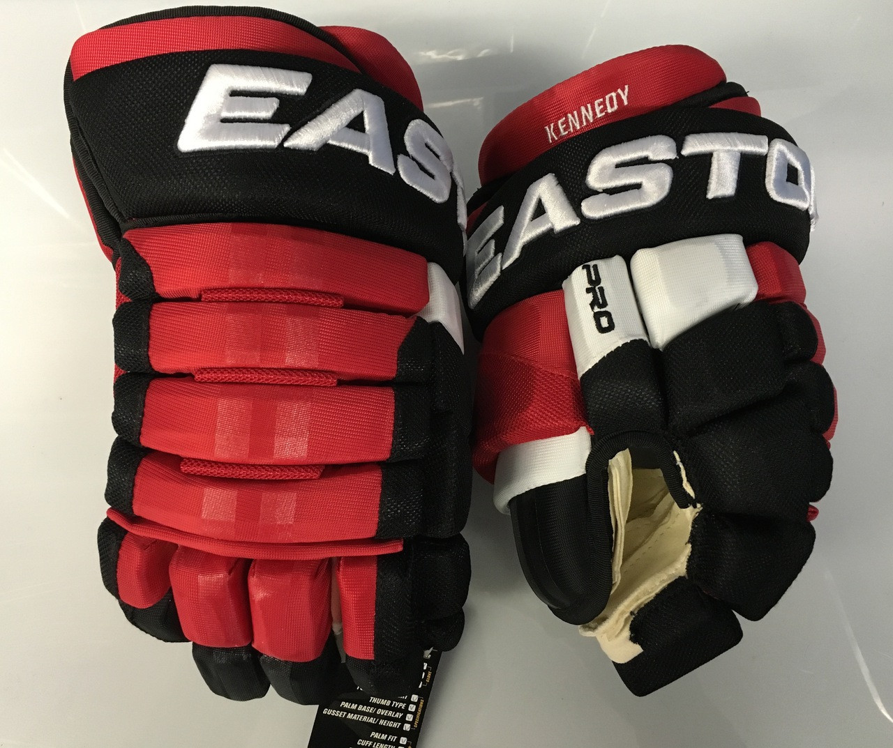 best authentic 311cf 4a352 Easton Pro Custom Hockey Gloves Pro Stock 13