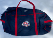 Rochester Americans Pro Stock Hockey Bag Used