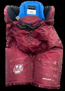Bauer Nexus Custom Pro Hockey Pants UMASS AMHERST MINUTEMEN Medium +1 Pro Stock NCAA Used 2
