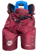 Bauer Nexus Custom Pro Hockey Pants UMASS AMHERST MINUTEMEN Medium Pro Stock NCAA Used 5