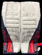 CCM Extreme Flex 4 Goalie Pads Custom Pro Stock NCAA Used 35+2