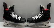 BAUER 2X PRO STOCK ICE HOCKEY SKATES 9 3/4 D NHL USED 2