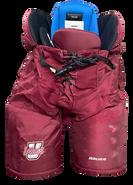 Bauer Nexus Custom Pro Hockey Pants UMASS AMHERST MINUTEMEN Medium Pro Stock NCAA Used 6