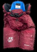 Bauer Nexus Custom Pro Hockey Pants UMASS AMHERST MINUTEMEN Medium Pro Stock NCAA Used 7