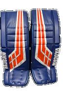 Vaughn Velocity VE8 Goalie Leg Pads 34+2 Pro Stock AHL SMITH