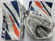 CCM Extreme Flex 4 Goalie Glove Gibson Pro Stock Soundtigers AHL Used