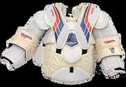Vaughn Velocity Pro Carbon VE8 XL Pro Stock Goalie Chest Protector SMITH
