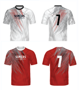 Somers Soccer Game Jersey Set Home + Away