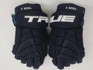"True XC9 Pro Stock Custom Hockey Gloves 15"" Noel (NEW)"
