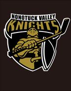 Nonotuck Valley Youth Hockey Team Window Decal