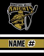 Nonotuck Valley Hockey Sublimated Fleece Sport Stadium Blanket