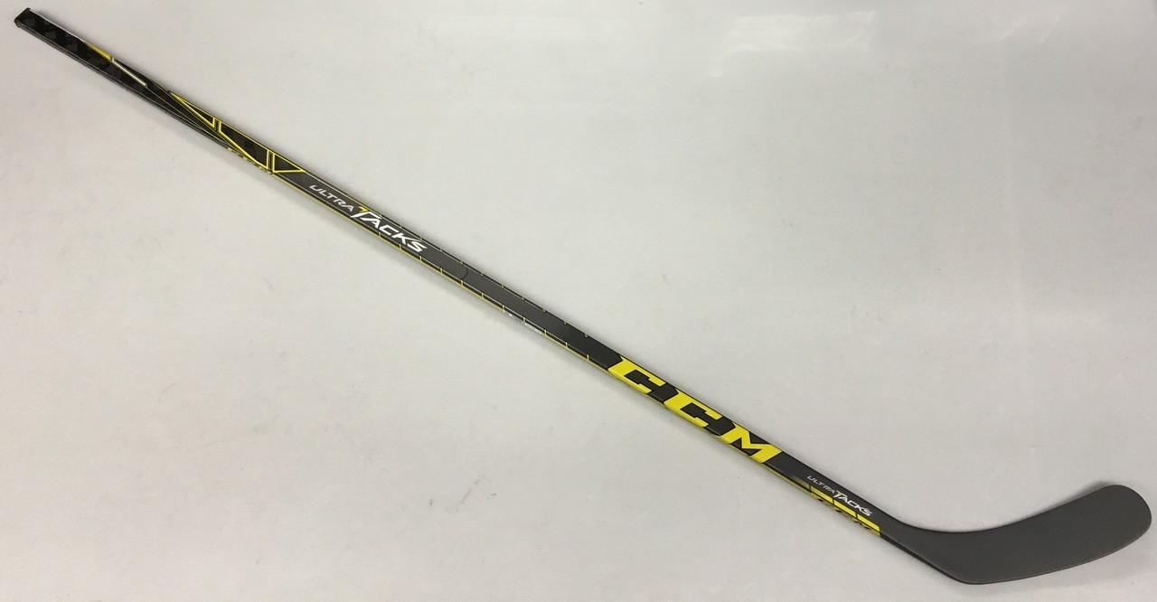 Yhdysvaltain halpa myynti monia muodikkaita lisää valokuvia CCM Ultra Tacks LH Pro Stock Hockey Stick 85 Flex Grip NHL Heel Curve KY