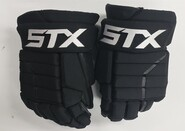 "STX Stallion HPR2 Pro Stock Custom Hockey Gloves 14"" Bruins"