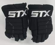 "STX Stallion HPR2 Pro Stock Custom Hockey Gloves 14"" Bruins 2"