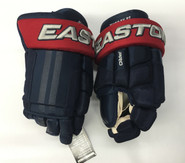 "Easton Pro Stock Custom Hockey Gloves 14"" Columbus Blue Jackets Murray NHL"