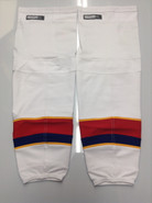 CCM EDGE CUSTOM HOCKEY SOCKS NORFOLK ADMIRALS WHITE PRO STOCK AHL XL NEW